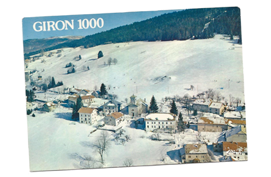 Le Bellevue Giron en hiver